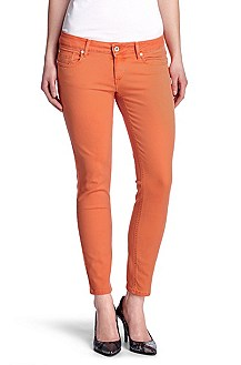 Slim fit jeans 'Lunja1-Ankle coloured'