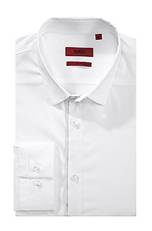 Slim fit business shirt with Kent collar 'Etti1'