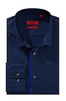 Chemise business Slim Fit à col Kent, Etti1