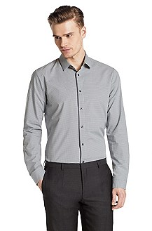Slim fit casual shirt with a Kent collar 'Etti1'