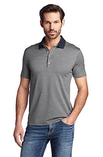 Cotton jersey polo shirt 'Varenna 22'