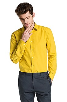 Slim fit casual shirt with Kent collar 'Elisha'