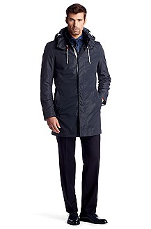 Windjacke ´The Parker` mit Stehkragen