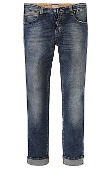 Jean de coupe Slim Fit, Orange63 video