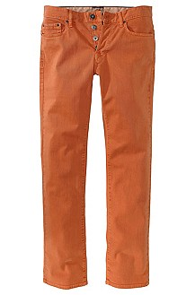 Jean Regular Fit, Orange25 coloured