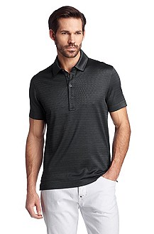 Cotton-jersey polo shirt 'Fontan 22'