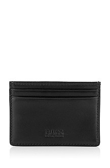 Calfskin leather card holder 'Poder'