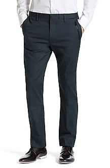 Cotton blend suit trousers 'Helak'