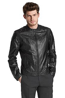 Leather jacket 'Lansor'