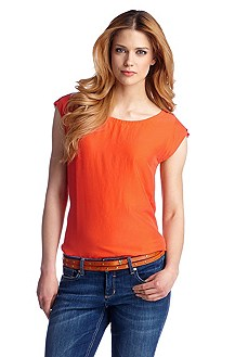 Top with a round neckline 'Kaliwa1-W'