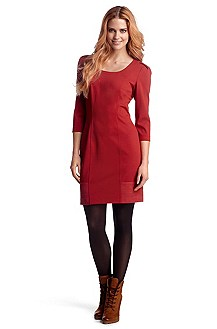 Sheath dress in blended viscose 'Asaria'