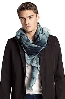 Cotton blend scarf 'Men-Z 388'