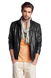 Leather jacket 'Jips1'