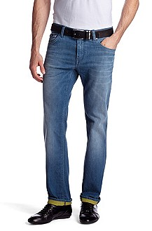 Regular-Fit Jeans ´Maine` aus Baumwoll-Mix