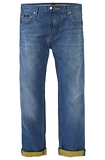 Regular Fit, cotton blend jeans 'Maine'