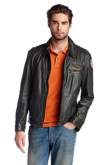 Genuine cowhide leather jacket 'Jone-W'