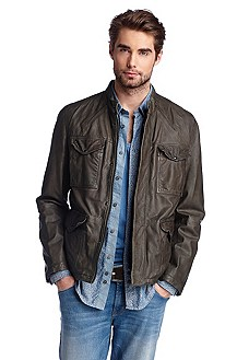 Leather jacket 'Joctor'