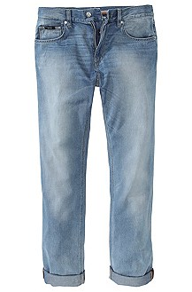 Regular fit jeans ´Maine` van used-denim