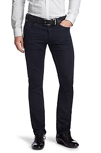 Slim fit jeans with a zip-fly 'Delaware'