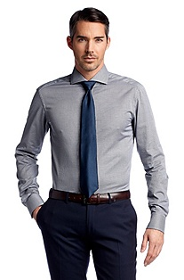 Business shirt in a lightweight fabric ´Christo`