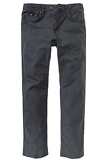 Regular fit jeans with a woven texture'Maine-10'
