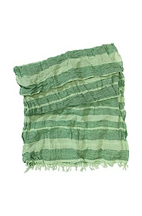 Linen and cotton scarf 'Nulcra'
