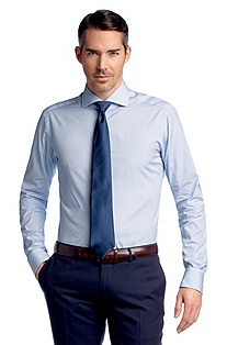 Business shirt with a shark collar 'Walton'