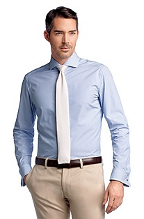 Business shirt with turn-back cuffs 'Yacob'