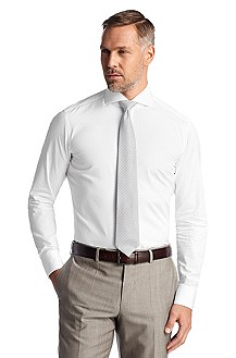 Business shirt with a shark collar ´Christo`