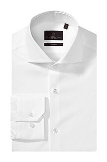 Chemise business à col requin, Christo