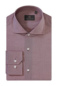 Business Shirt with a subtle shimmer ´Walton`