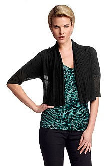 Knitted bolero in silk/viscose 'F4618'