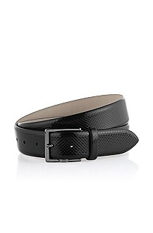 Italian cowhide leather belt 'Lentino'
