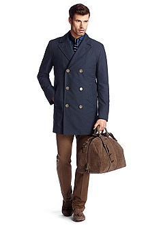 Manteau à double patte de boutonnage, Waver