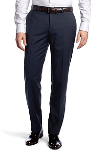 Pure new wool suit trousers 'Tower1'