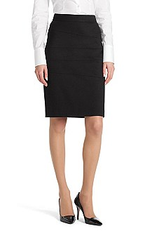 Pencil skirt in blended viscose 'Riena'