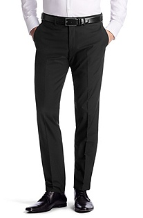 Suit trousers with pressed pleats 'Shanno'