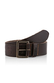 Belt with large embossed logo 'Jaiko'