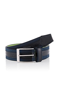 Belt with a rectangular pin buckle 'Milon-N'