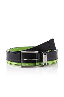 Pure leather belt 'Timoleo'