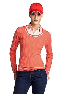 Pull-over en maille à encolure ronde, Sunnie