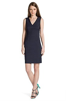 Sheath dress in blended new wool 'Klanis'