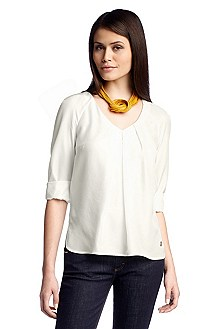 Casual pure silk T-shirt 'Zofina'