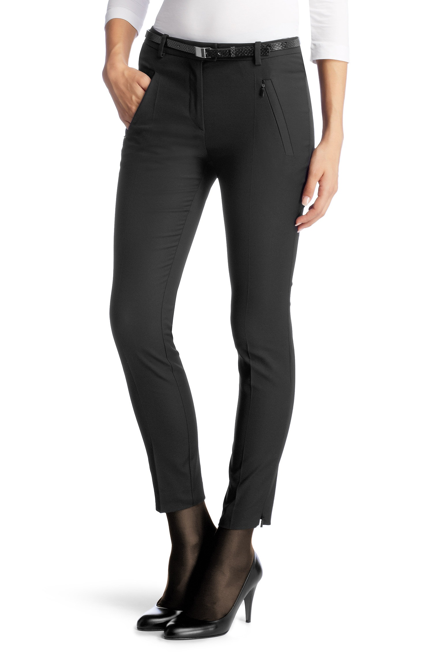 null - Pantalon coupe Slim Fit ��Anaita��