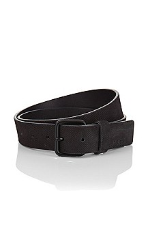 Leather belt with a pin buckle 'Gadilon'