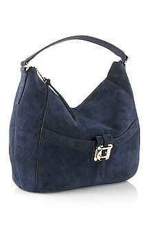 Soft suede hobo bag 'Callyope-R'