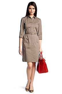 Shirt dress with side zip fastening 'Hemma'