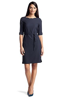 Robe de cocktail à encolure bateau, Henryke