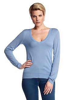 Cashmere and silk sweater 'F4660'