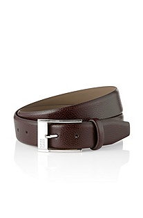 Belt made of the grained cow leather 'Ellot'